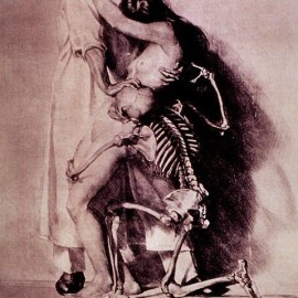 The Doctor, The Girl and Death by Ivo Saliger 1920