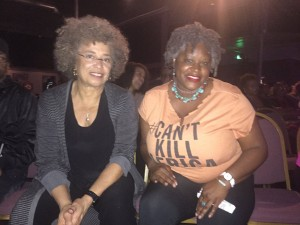 Angela Davis and me