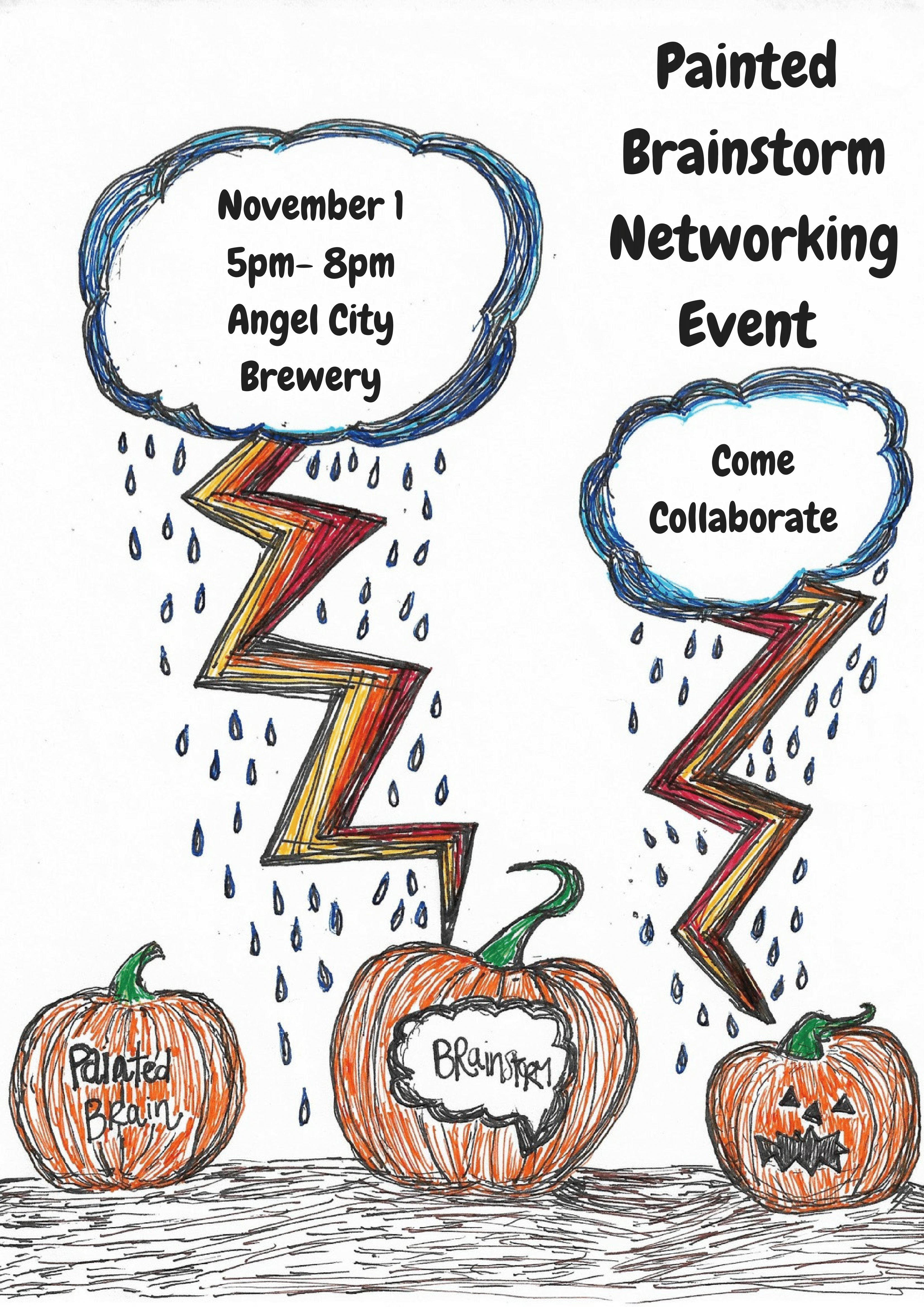 Painted Brainstorm Networking Event