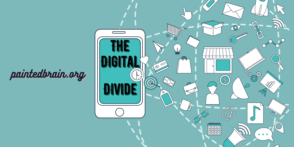 The digital divide and mental health