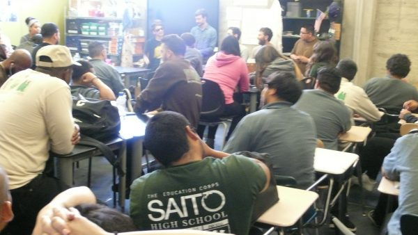Speakers Bureau at SAITO high school