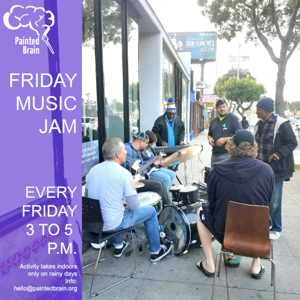 Music Jam at the PB Community Arts and Tech Center on Fridays
