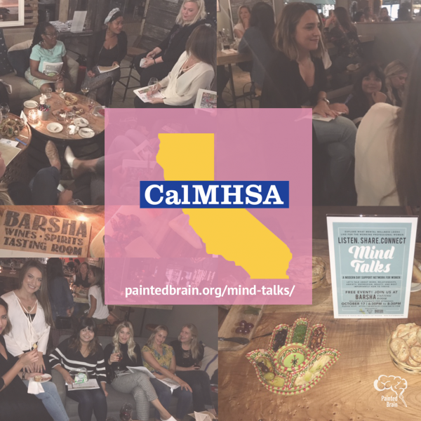 We created a professional group for women called Mind Talks to have a safe space to talk about life and wellness. This opportunity was given to us by CAL MH. They granted 5K to create this once a month event.