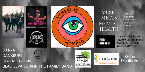 """""""Where Is my MInd"""" at the Echo May 26 Sunday Free Music Event"""