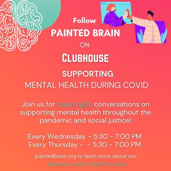 Join Painted Brain on Clubhouse